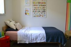 how we montessori - bedroom (excellent article, including choosing artwork for the montessori child's bedroom)