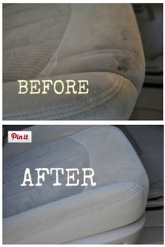Clean your car's interior. | 28 Ways To Fix Stuff Your Kids Ruined