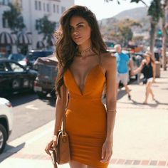 Orange | Gold | Strappy | Bodycon | Dress | Summary FIELDS OF GOLD DRESS shop it…