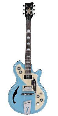 Italia Guitars Blue