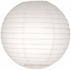 "20"" White Round Paper Lantern - (10 Pack) by Asian Import Store, Inc.. $25.00. White round paper lanterns with a even wire ribbing. Lantern is held open with a wire expander.   Dimensions: 20"" dia Quantity: 10 Pack"