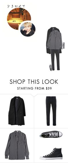 """""""Beautiful Liar Song Cover With Tao: Jun"""" by official-starx ❤ liked on Polyvore featuring Les Prairies de Paris, Topman, Frame, Converse, men's fashion and menswear"""