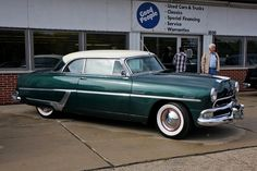 1954 Hudson Hornet  Maintenance/restoration of old/vintage vehicles: the material for new cogs/casters/gears/pads could be cast polyamide which I (Cast polyamide) can produce. My contact: tatjana.alic@windowslive.com