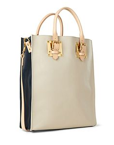 Sophie Hulme double-plate tote.