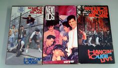 New Kids On The Block VHS, Boy Band LOVE! #hiphop #80skid #90skid #newkidsonttheblock #boyband #love #etsy @thrifty trendz