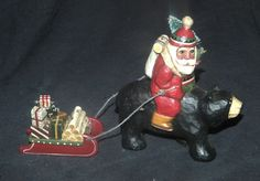 Santa on Bear ~ Midwest of Cannon Falls