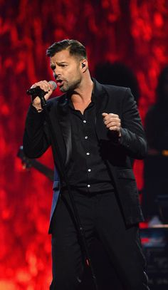"""Singer Ricky Martin performs during the 18th annual Keep Memory Alive """"Power of Love Gala"""" benefit for the Cleveland Clinic Lou Ruvo Center for Brain Health honoring Gloria Estefan and Emilio Estefan Jr. on April 26, 2014 in Las Vegas, Nevada."""