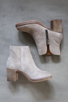 The Wishlist Bootie in Waxed Antique Silver