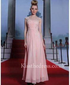 pink lace chiffon pr