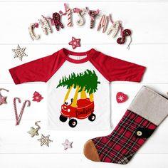 Toddler Christmas Gifts, Christmas Shirts For Kids, Christmas Crafts For Toddlers, Christmas Truck, Christmas Activities, Kids Christmas, Christmas Sweaters, Christian Shirts, Spirit