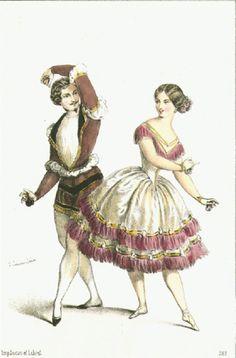 fanny cerrito | Fanny Cerrito et Arthur Saint-Léon dans La Fille de Marbre en 1847…