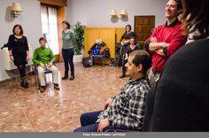 """""""El cuerpo, lugar de ecos"""" con Nieves Pérez y Dani Muñoz, Borrón y Cuento nuevo - 20 de febrero - Fotografía: Arturo Prieto"""