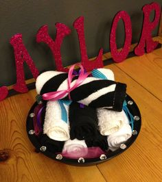 Monster High Birthday Spa Party - Washcloths were included in the goody bags. Monster High Birthday, Monster High Party, 10th Birthday, Birthday Cake, Girl Spa Party, Goodie Bags, Small Groups, Little Girls, Goodies