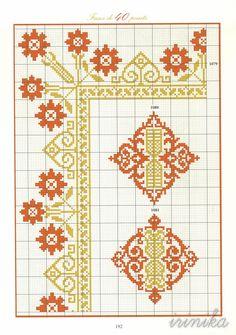 ru / Valentina-A - Альбом Cross Stitch Borders, Cross Stitch Charts, Cross Stitch Designs, Cross Stitch Needles, Cross Stitch Embroidery, Hand Embroidery Designs, Embroidery Patterns, Weaving Patterns, Cross Stitch Patterns
