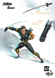 Hawkeye by Dinsai Marvel Comics - Anime Characters Epic fails and comic Marvel Univerce Characters image ideas tips Avengers Cartoon, Marvel Cartoons, Marvel Comics Art, Marvel Heroes, Marvel Avengers, Marvel Universe, Spiderman, Marvel Drawings, Avengers Wallpaper