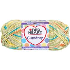 Red Heart Gumdrop Yarn * Be sure to check out this awesome product.Note:It is affiliate link to Amazon.