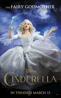Annie Leibovitz, Helena Bonham Carter Fairy Godmother poster for Disney's Cinderella