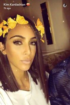 Kim Kardashian New Hair (Glamour.com UK)