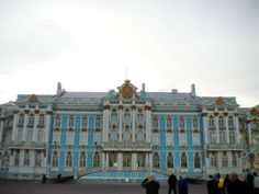 Castle of Catherine the Great in Russia