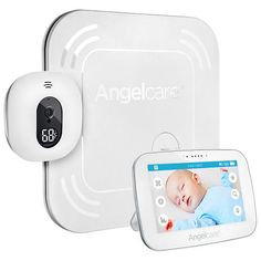 Video Review for Angelcare Video and Sound With Wireless Movement Sensor Pad Baby Monitor - AC517