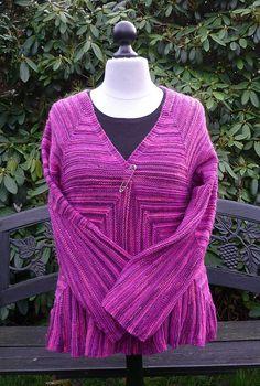 Ravelry: Sustrum Jacket and Tunic pattern by Beyenburgerin Brigitte