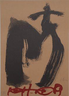Antoni Tapies: Creu i M - Galerie-F