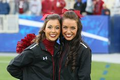 Gamecock cheerleaders at the South Carolina-Kentucky game 2014