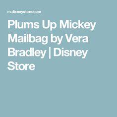 Plums Up Mickey Mailbag by Vera Bradley | Disney Store