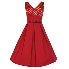 Valerie Wine Swing Dress | Vintage Style Dresses - Lindy Bop