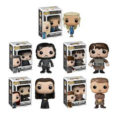 (TOY) -- Funko Pop! Vinyl Figure - Game of Thrones :  Series 4 Set (#25-29)