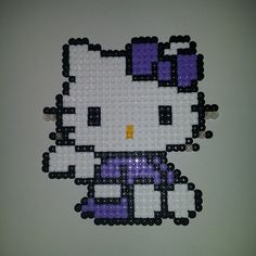 Angel Hello Kitty hama beads by anypekexa