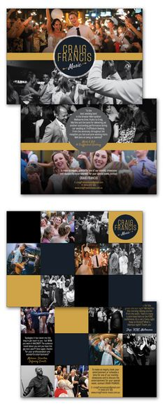 Corporate and Wedding Band Flyers