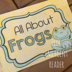 Frog Emergent Reader: All About Frogs. Non-fiction beginning reading with great information on frogs! Frog Emergent Reader: All About Frogs. Non-fiction beginning reading with great information on frogs! Activities For Autistic Children, Animal Activities For Kids, Educational Activities, Fun Activities, Mind Reading Tricks, Reading Strategies, Reading Comprehension, Preschool Printables, Free Preschool