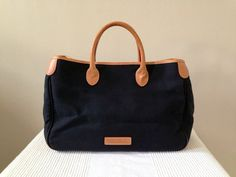 Vintage Dooney and Bourke Black Canvas with by AgisCuteCollections, $58.00