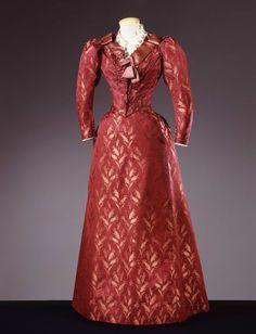 Dress, Mlle. Rebatter, c. 1890.