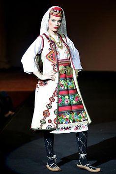 A Serbian folk costume
