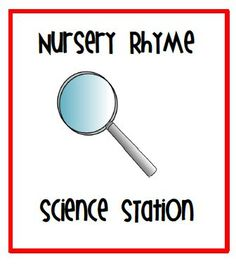 I want to begin kindergarten with nursery rhymes.  Students are familiar with the rhymes so they feel successful, which builds their confidence.   Humpty Dumpty is easy for students to learn if they haven't been exposed prior to, and this integrates science (magnets) and math wonderfully!