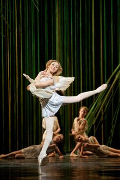 Maia Makhateli, Principal, Dutch National Ballet, dances Cupid, from Don Quixote, 2010. Photograph: Angela Sterling.