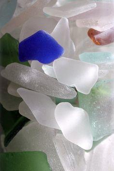 Blue Glass, by JB by the Sea, via Flickr.