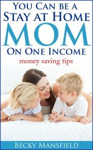 You can be a Stay at Home Mom on one income. (money saving tips) - Your Modern Family