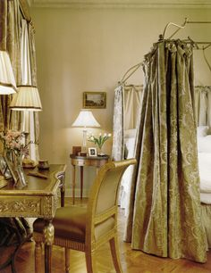 Traditional Manhattan Bedroom Bedroom TraditionalNeoclassical by Stedila Design Traditional Interior, Traditional Bedroom, Manhattan, Portfolio Design, Contemporary Furniture, Curtains, Interior Design, Chic, Bedrooms