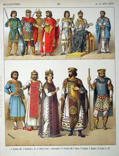 costumes of the Byzantine empire