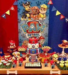 50 Impresionantes ideas de decoración para fiesta de PAW Patrol o Patrulla canina Paw Patrol Birthday Decorations, Paw Patrol Birthday Theme, 2 Birthday, 3rd Birthday Parties, Cumple Paw Patrol, Paw Patrol Cake, Party Favors, Paw Patrol Invitations, Decorating Ideas