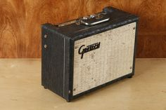 Vintage 1964 Gretsch 6150T 5 watt tube amp TREMOLO AMPLIFIER Valco Made Supro 6 - when you MEAN business!