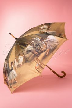 So Rainy - Dance Class at the Opera by Degas Umbrella Fancy Umbrella, Buy Umbrella, Vintage Umbrella, Rain Umbrella, Under My Umbrella, Cool Umbrellas, Umbrellas Parasols, Singing In The Rain