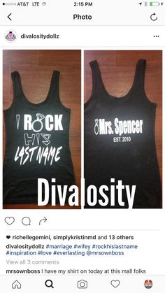 Rock his last Name by Divalosity on Etsy