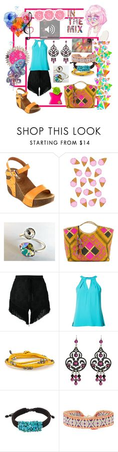"""IN THA MIX"" by aliceridler ❤ liked on Polyvore featuring H0les, Beston, Banago, Lost & Found, Trina Turk, GET LOST, Tarina Tarantino, NOVICA, Accessorize and Bond No. 9"