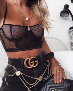 There is 1 tip to buy underwear, black underwear. Edgy Outfits, Night Outfits, Cute Casual Outfits, Pretty Outfits, Girl Outfits, Fashion Outfits, Womens Fashion, Fashion Trends, Black Underwear