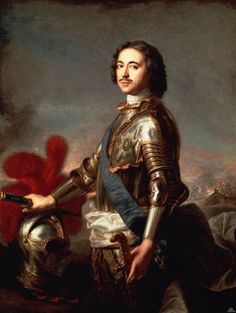 Portrait of Peter the Great - Jean-Marc Nattier - 1717