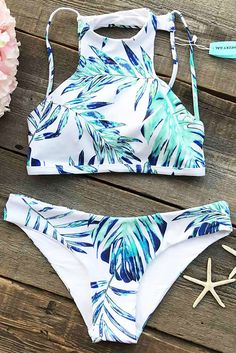 You're comin' in hot. Free Shipping & Easy Return + Refund! The style and pattern of this Transparent Leaf Bikini Set is very trendy. The bikini bottom detailed with high cut that offers perfect coverage for a very hot cheeky look. No wonder, it's the perfect swimwear for this summer.